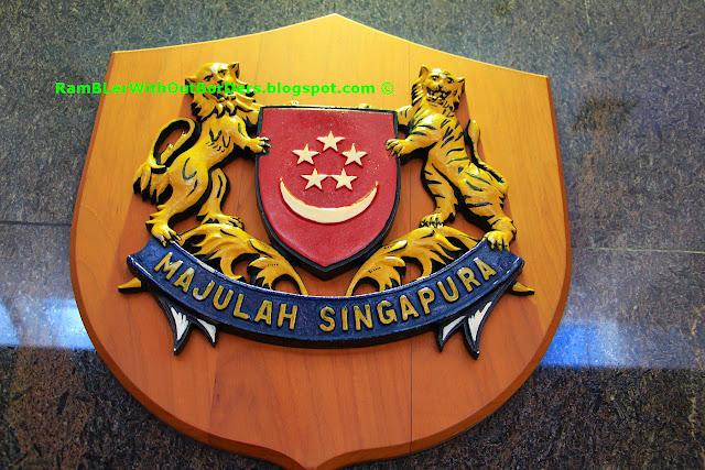 Majulah Singapura insignia, MND, Singapore