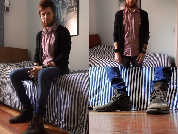 ... Camisa Pool (Riachuelo) Calça Jeans Skinny Clock House (C A) Bota  Masculina Democrata ... cb78df0ccf