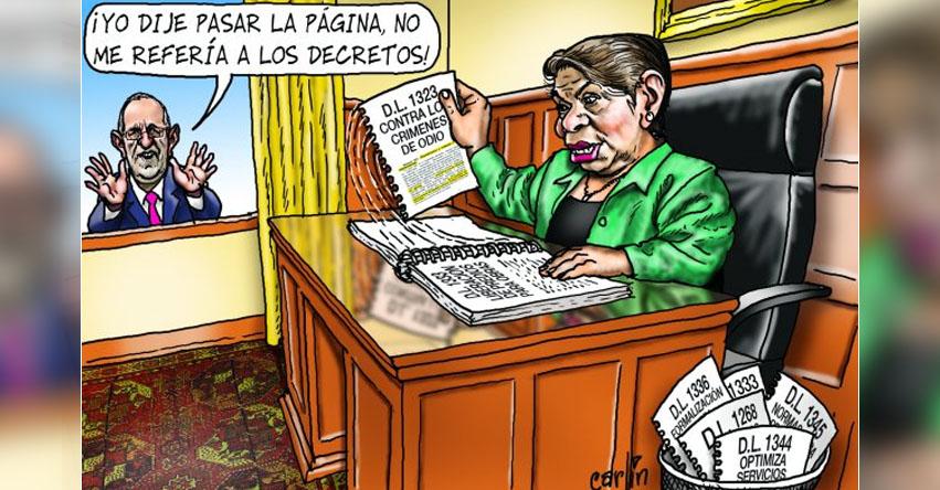 Carlincaturas Lunes 8 Mayo 2017 - La República