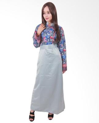Model Gamis Batik Orang Gemuk remaja
