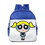 Powerpuff Girl Single Character ,Royal Blue School Backpacks