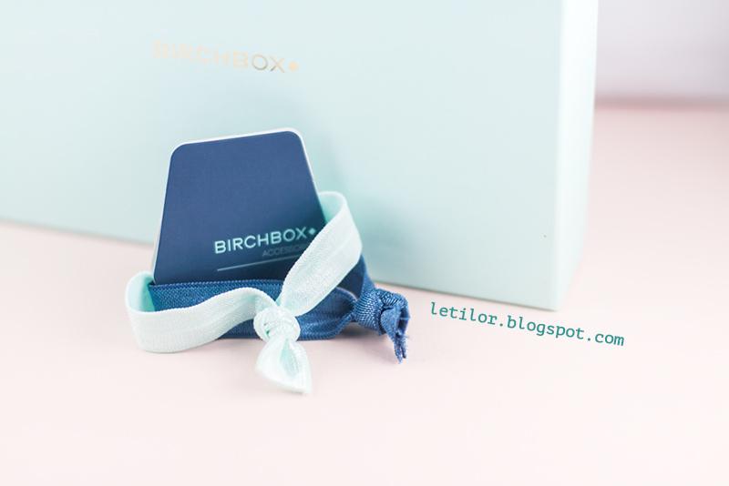 Birchbox janvier 2016 elastiques
