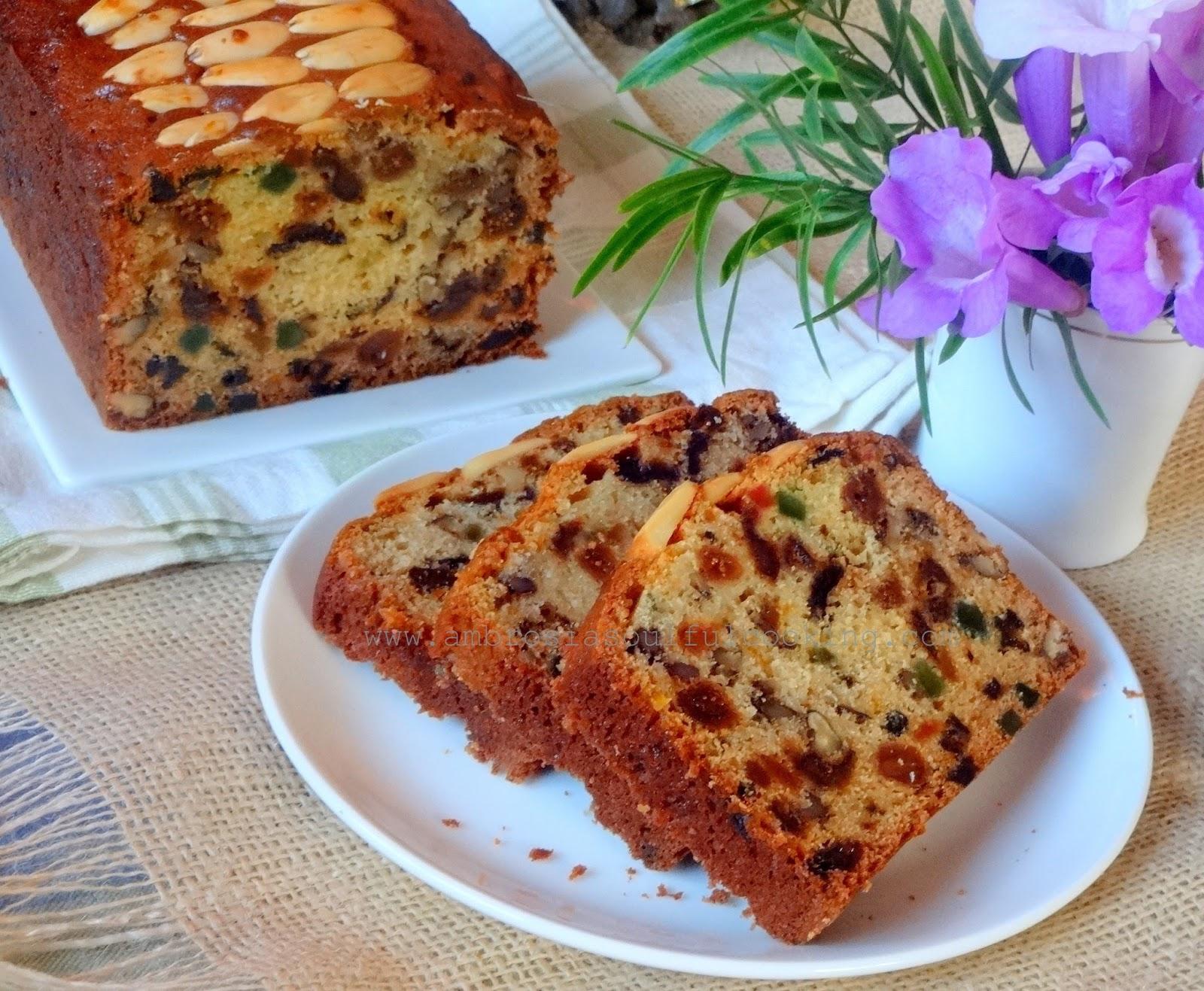 Fruit Cake Recipe Loaf Pan: Easy Fruit Cake