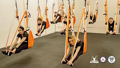 barcelona, cataluña, yoga aereo, yoga aerea, air yoga, aeroyoga, aeropilates, pilates aereo, columpio, formacion, certificacion, acreditacion, yoga alliance