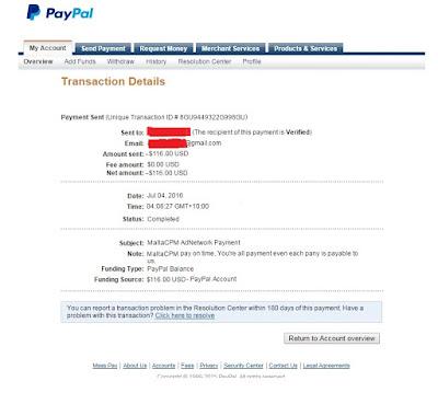 payment proof malta cpm