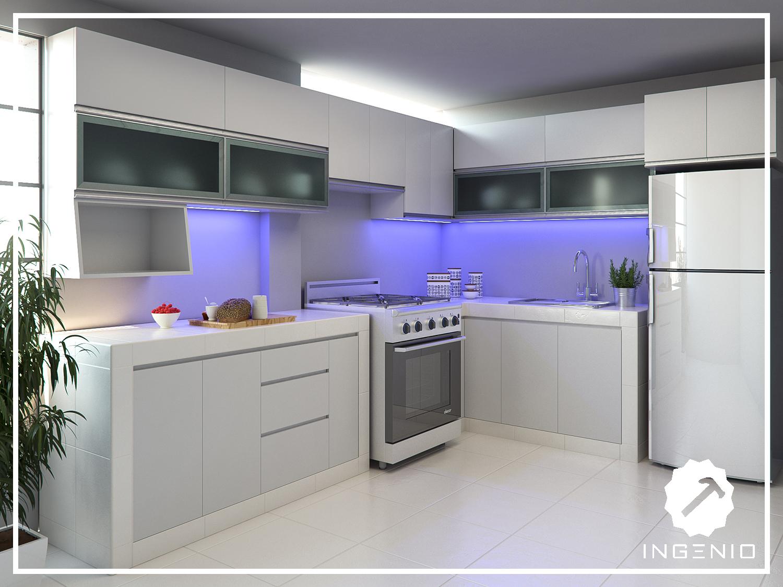 Beautiful Muebles Melamina Cocina Images - Casas: Ideas, imágenes y ...