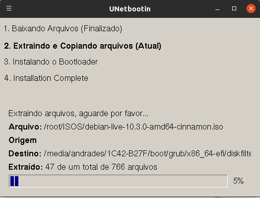 3 maneiras de gravar uma imagem ISO num Pendrive utilizando Linux - Dicas Linux e Windows