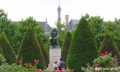 jardins do Museu Rodin - Paris