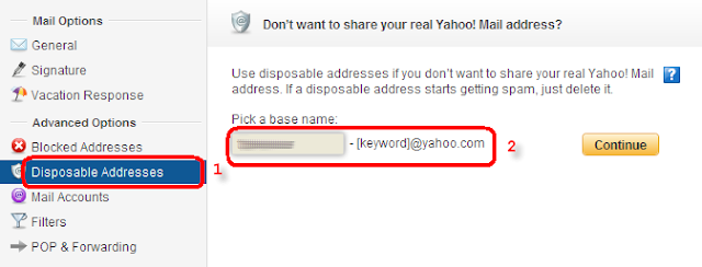 How To Use One Yahoo Mail Account To Generate Unlimited Temporary Email Addresses