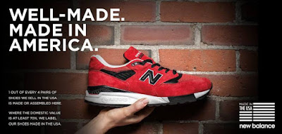 New Balance is on fire … and not in a good way!
