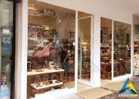 projeto arquitetura vitrine loja calçados masculinos femininos mr cat icarai