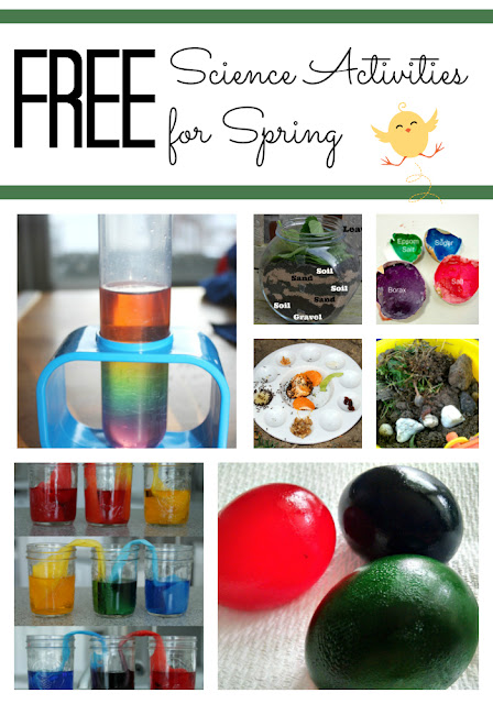 Free Science Activities for Kids to Do in Spring
