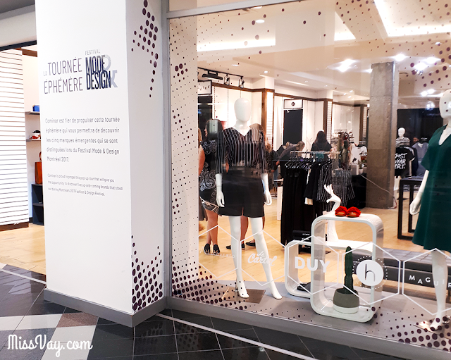 La Tournée éphémère Festival Mode & Design est à Québec