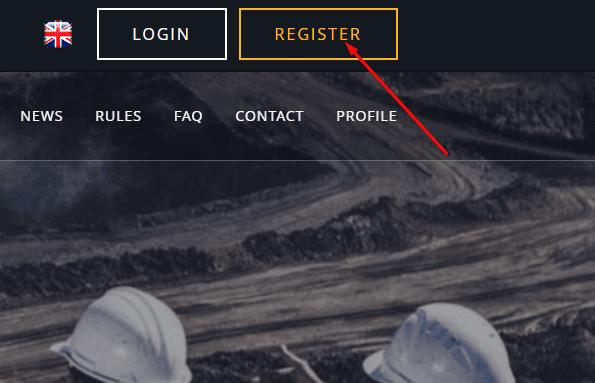 Регистрация в LakeLand Gold