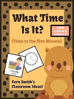 http://www.teacherspayteachers.com/Product/What-Time-Is-It-Center-Game-Time-To-the-Five-Minute-for-Groundhog-Day-1031589