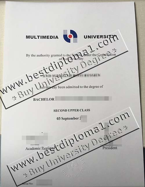 Multimedia Uni fake degree