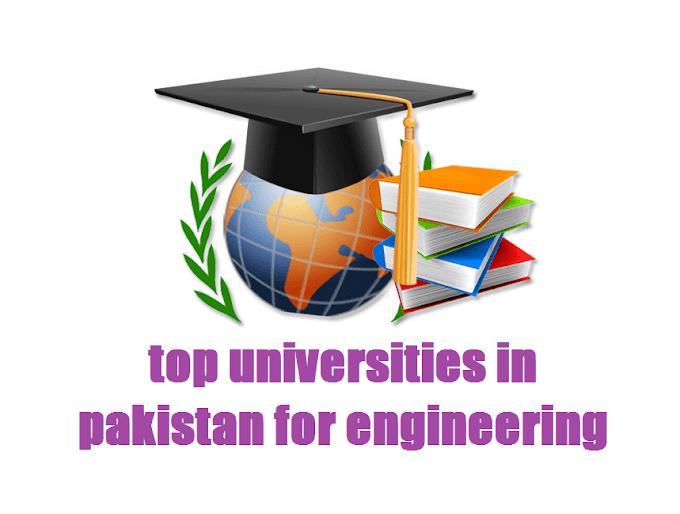 top universities in pakistan for engineering