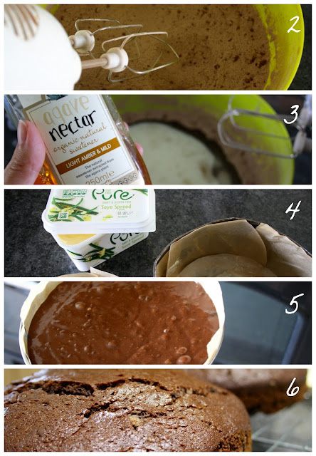vegan chocolate cake recipe delicious baking