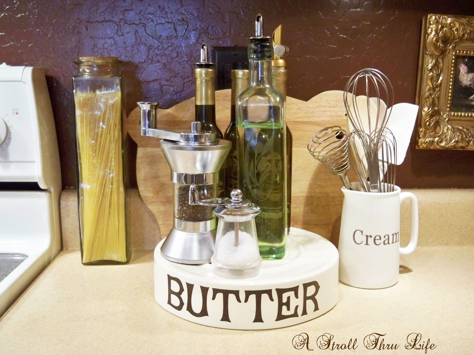Use creative accessories in the kitchen