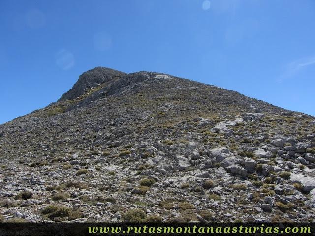 Ruta Canal Grajas y Covarones Cortes: Collada camino del Prao Cortés