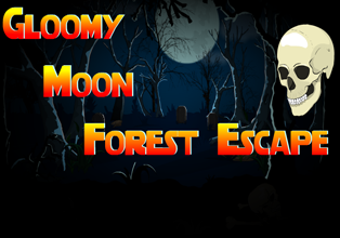 EightGames Gloomy Moon Forest Escape Walkthrough