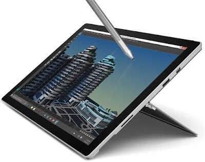 Microsoft Surface Pro 4 (m3, 128 GB)