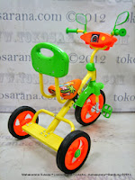 PMB 920 Safari Music BMX Tricycle Orange