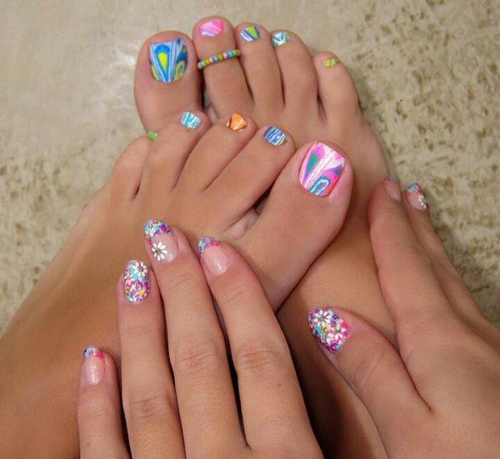 Decoracion de u as de los pies mujer tendencias for Decoracion unas pies
