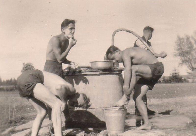 nude german Gay soldier naked