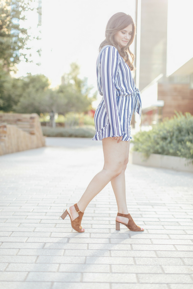 Stepping out of My Comfort Zone With a Plunging Romper