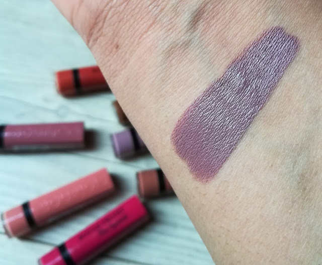 Bourjois Velvet the lipstick - From Paris with Mauve