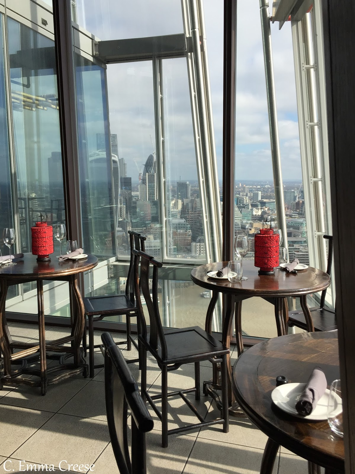 Best London view brunch Aqua Shard Adventures of a London Kiwi