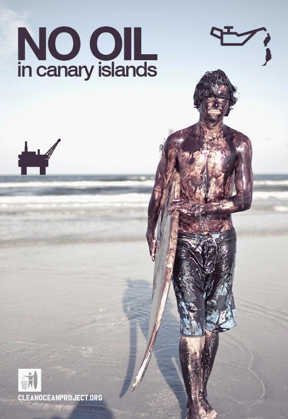 No a las prospecciones petrolíferas en Canarias
