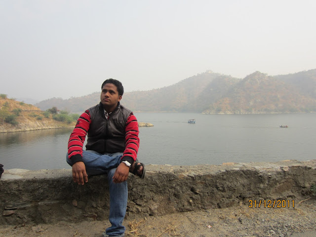 shashank in jaismand lake