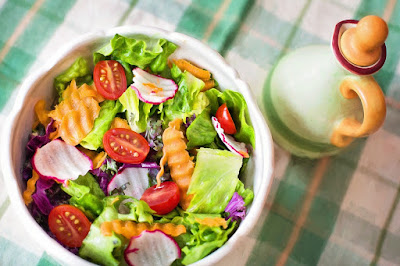 Power Salad with Lemon Chia Seed Dressing