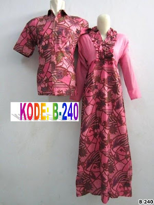 Couple Batik Islami Couple Batik Sutra Couple Batik Syar I Couple Baju