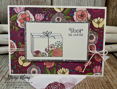 Stampin'Up! Sweet soiree memories and more cards, cake soiree, feesttaart