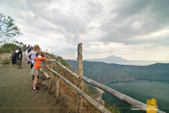Taal Volcano Hike Crater View Deck