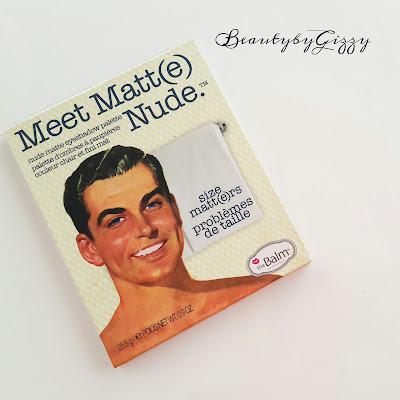 MY FAVORITE EYESHADOW PALETTE '' MEET MATTE NUDE''