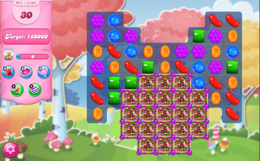 Candy Crush Saga level 6103