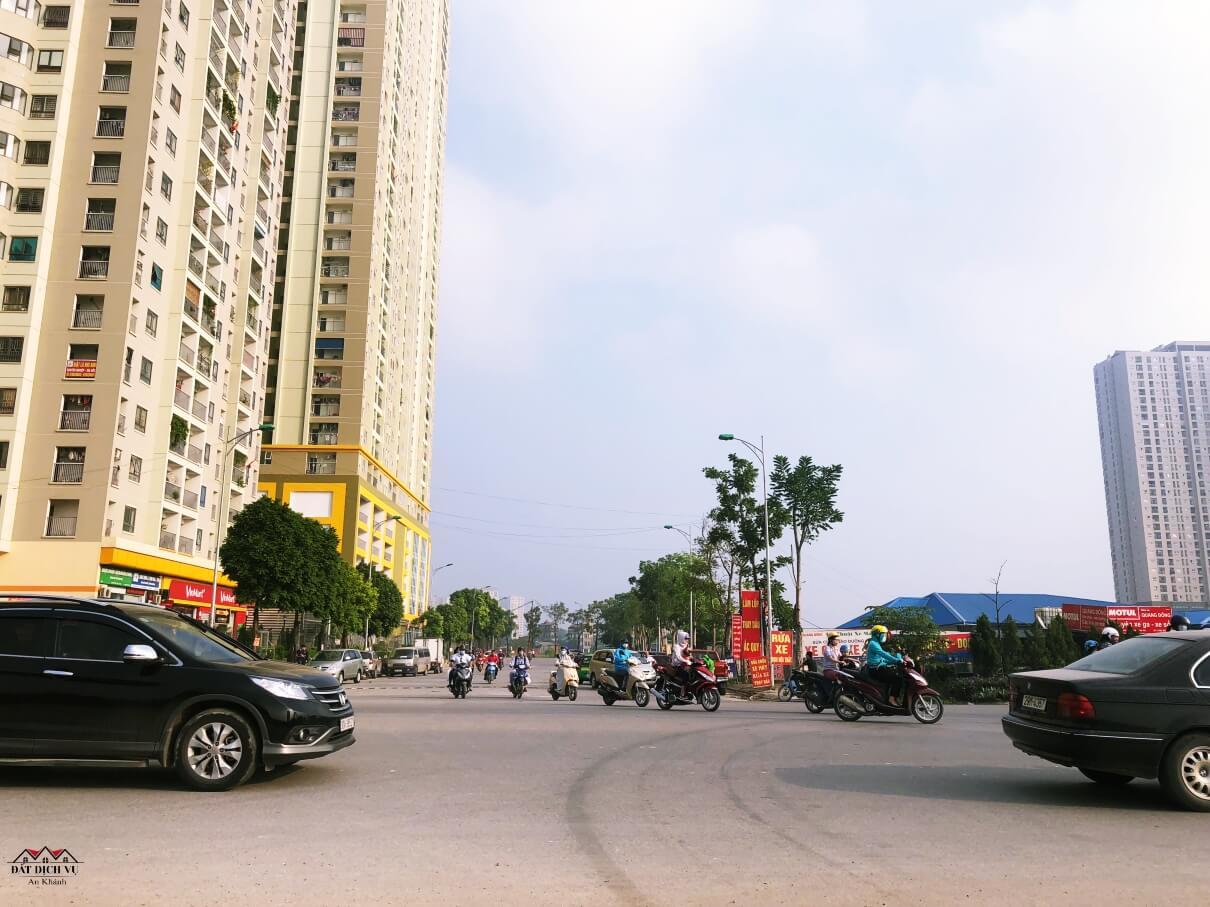 Khu đô thị An Khánh sầm uất
