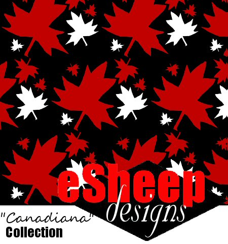 Canadiana Fabric Collection by eSheep Designs
