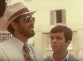 Vittorio Gassman (left) and Alessandro Momo in a scene from Dino Risi's film Profumo di donna
