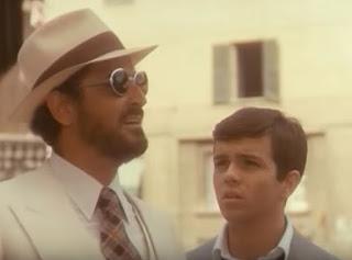 Vittorio Gassman (left) and Alessandro Momo in a scene from Dino Risi's film Profumo di donna