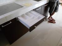 furniture semarang kitchen set lurus iim03