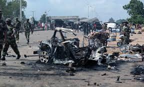 boko haram explosion biu borno state