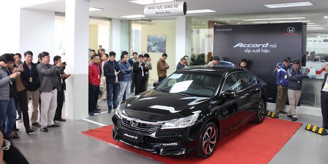 Honda Accord 2016 sắp ra mắt có giúp mẫu xe này cạnh tranh sòng phẳng với Camry hay Mazda6 tại thị trường Việt Nam?