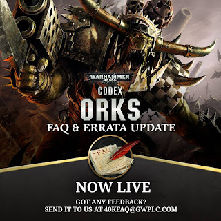 New Warhammer 40k Ork FAQ and Errata + Others Updated - Faeit 212