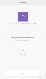 Method 3. Mi Drop - How to transfer data and file from old Mi Phone to New Mi Phone with Step By Step Guide with pictures