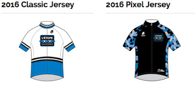 Le Etape California Jerseys 2016